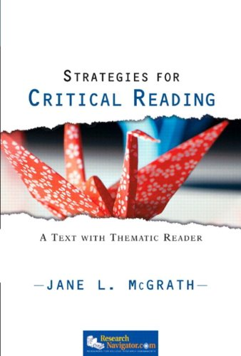 9780205723287: Strategies for Critical Reading: A Text with Thematic Reader (with MyReadingLab Student Access Code Card)
