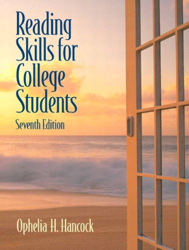 9780205723324: Reading Skills for College Students