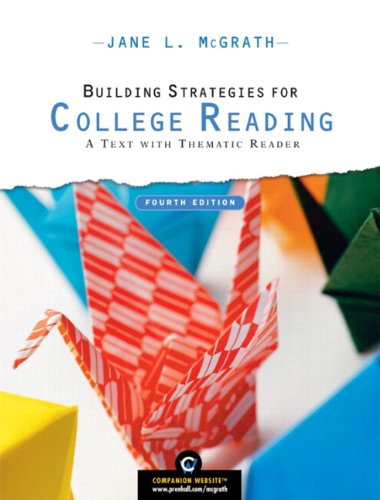 9780205723331: Building Strategies for College Reading: A Text with Thematic Reader (with MyReadingLab Student Access Code Card) (4th Edition)