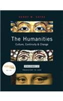 9780205723416: The Humanities: Culture, Continuity, and Change, Volume 1 Reprint (with MyHumanitiesKit Student Access Code Card)