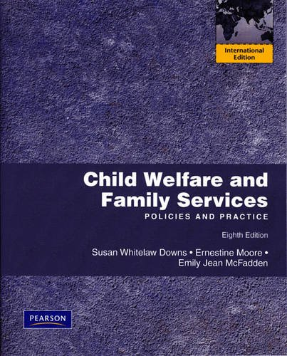 9780205724239: Child Welfare and Family Services