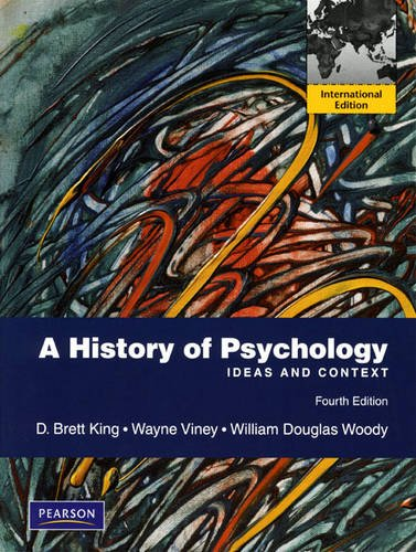 9780205726257: A History of Psychology: Ideas and Context: International Edition