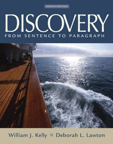 9780205727889: Discovery: From Sentence to Paragraph (with MyWritingLab Student Access Code Card) (4th Edition)