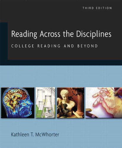9780205727957: Reading Across the Disciplines: College Reading and Beyond (with MyReadingLab Student Access Code Card) (3rd Edition)