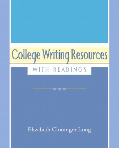9780205727995: College Writing Resources with Readings (with MyWritingLab Student Access Code Card)