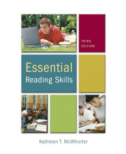 9780205728060: Essential Reading Skills (with MyReadingLab Student Access Code Card) (3rd Edition)