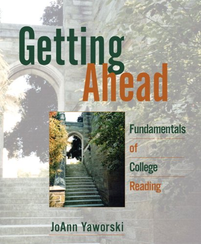 9780205728107: Getting Ahead: Fundamentals of College Reading (with MyReadingLab Student Access Code Card)