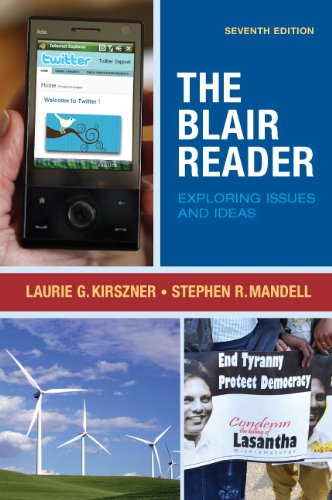 9780205728442: The Blair Reader: Exploring Issues and Ideas (7th Edition)