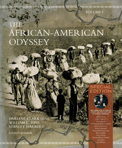 The African-American Odyssey: v. 1: Hine, William C.,