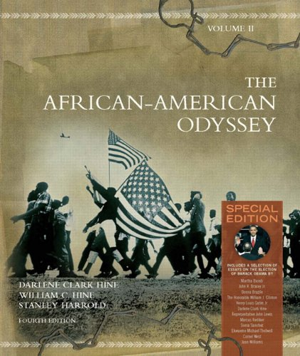 9780205728770: The African-American Odyssey: Special Edition, Volume 2 (4th Edition)