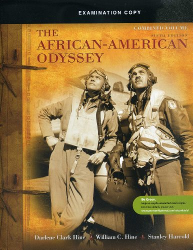 9780205728831: The African-American Odyssey Examination Copy