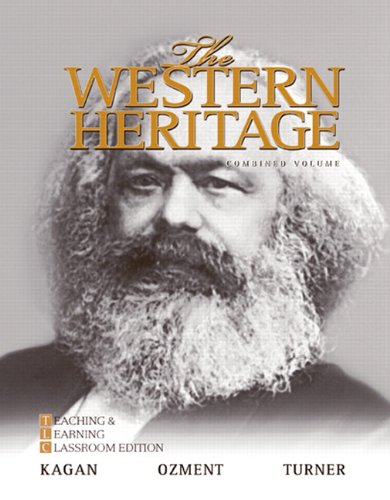 9780205728916: The Western Heritage: Teaching and Learning Classroom Edition, Combined Volume (6th Edition)