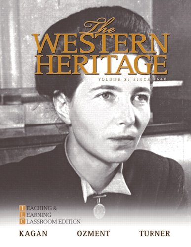 9780205728930: The Western Heritage: Teaching and Learning Classroom Edition, Volume 2 (Since 1648) (6th Edition)