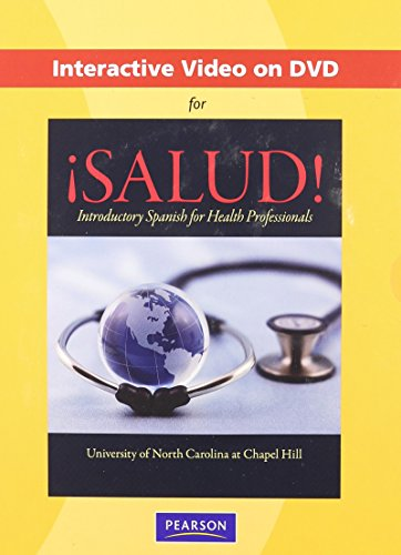 9780205730162: Interactive Video on DVD for ¡Salud!