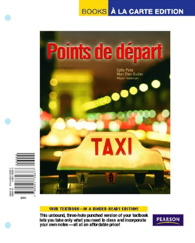 9780205730377: Points de depart, Books a la Carte Edition
