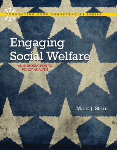 9780205730674: Engaging Social Welfare: An Introduction to Policy Analysis (Connecting Core Competencies)
