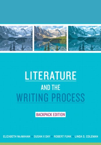 9780205730728: Literature and the Writing Process, Backpack Edition (Myliteraturelab)