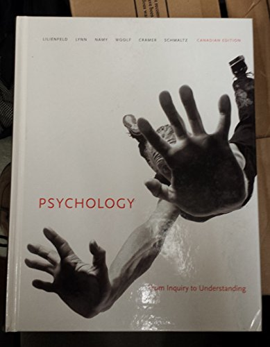 9780205731022: Psychology: From Inquiry to Understanding