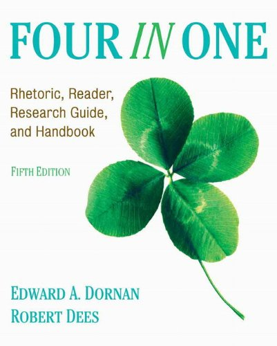 9780205731220: Four In One: Rhetoric, Reader, Research Guide, and Handbook (5th Edition)