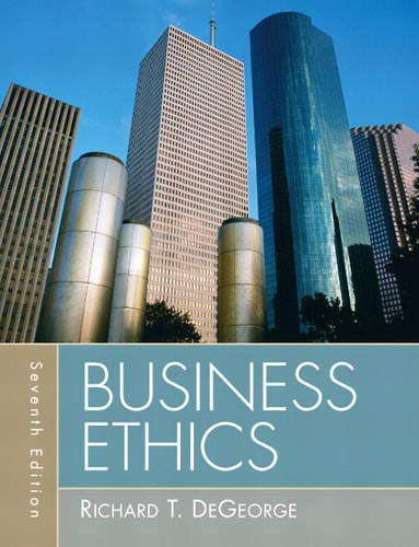 9780205731930: Business Ethics (7th Edition)