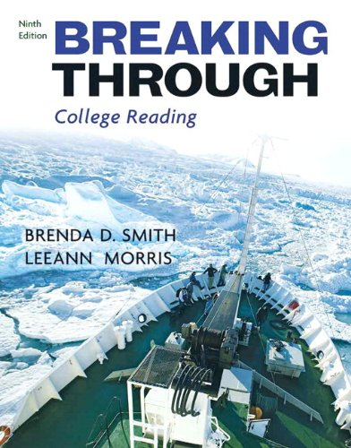 9780205734368: Breaking Through (with MyReadingLab Student Access Code Card) (9th Edition)