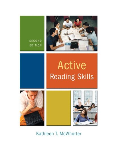 9780205734429: Active Reading Skills [With Myreadinglab] (McWhorter Developmental Reading (Comprehensive))