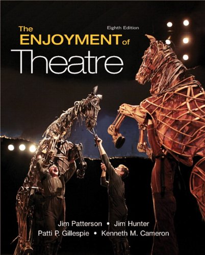 9780205734610: The Enjoyment of Theatre (8th Edition)