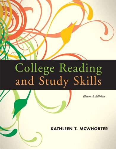 9780205734955: College Reading and Study Skills (11th Edition)