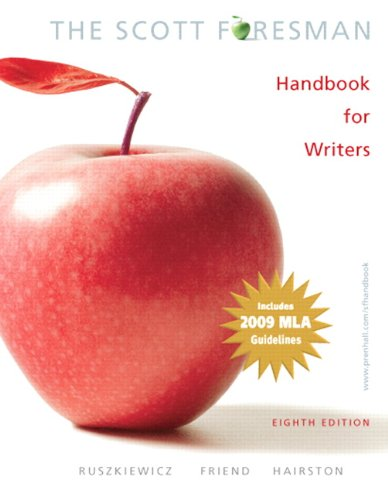 9780205735624: The Scott Foresman HandBook For Writers: (8th Edition)