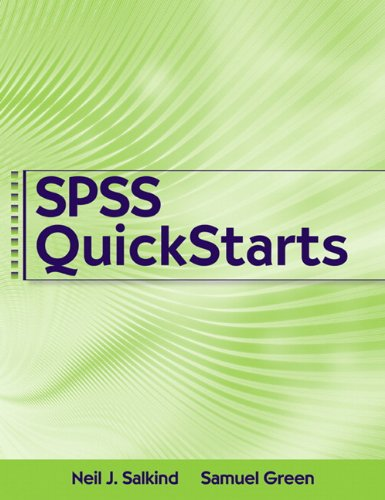 quick guide to spss Significance tests a significance test is a rule of thumb that is used to help to determine whether a difference between two numbers is likely to reflect a.