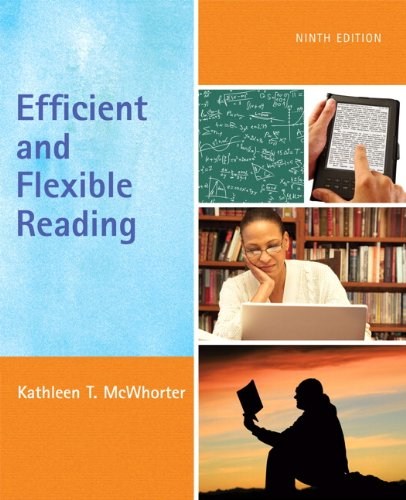 9780205736577: Efficient and Flexible Reading (9th Edition)