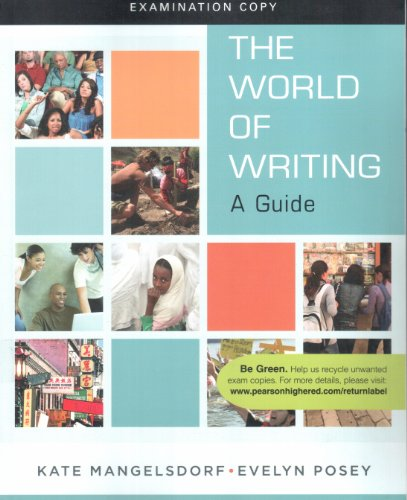 9780205737338: The World of Writing A Guide Examination copy