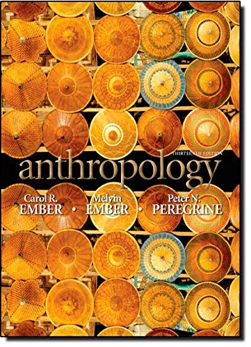 9780205738823: Anthropology (13th Edition)
