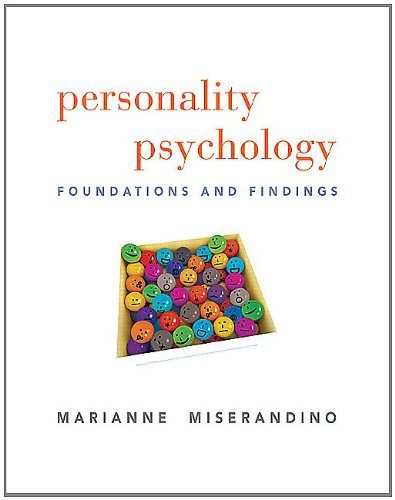9780205738878: Personality Psychology: Foundations and Findings
