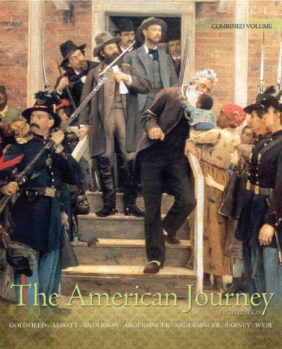 9780205739141: The American Journey: Update Edition, Combined Volume (5th Edition)