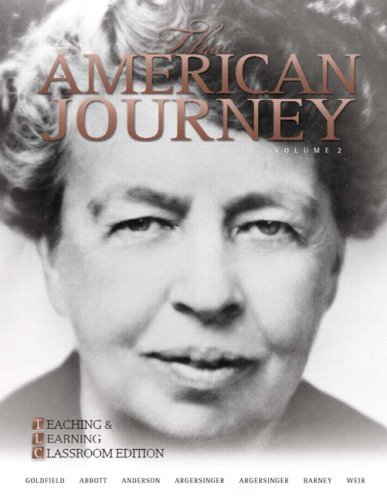 9780205739172: The American Journey: Teaching and Learning Classroom Update Edition, Volume 2 (5th Edition)