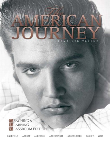9780205739233: The American Journey: Teaching and Learning Classroom Update Edition, Combined Volume (5th Edition)