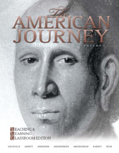 9780205739240: The American Journey: Teaching and Learning Classroom Update Edition, Volume 1 (5th Edition)