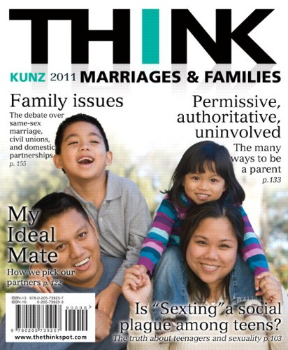 9780205739257: Think Marriages & Families
