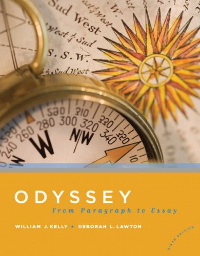 9780205739820: Odyssey: From Paragraph to Essay (6th Edition)
