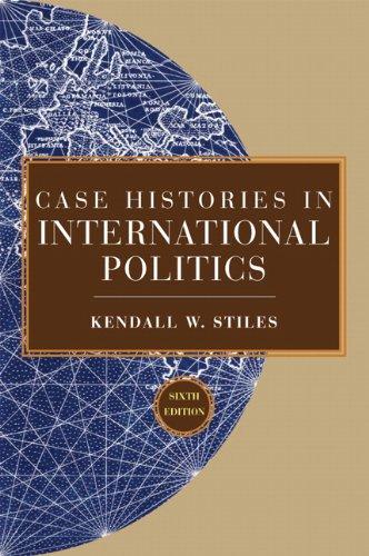 9780205739950: Case Histories in International Politics (6th Edition)