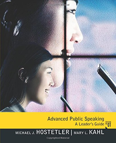 9780205740017: Advanced Public Speaking: A Leader's Guide