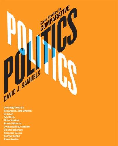 9780205740093: Case Studies in Comparative Politics