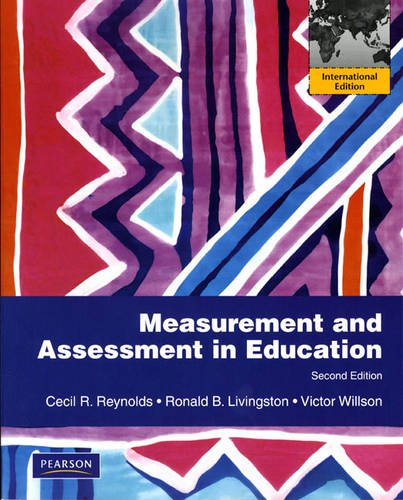 9780205740352: Measurement and Assessment in Education