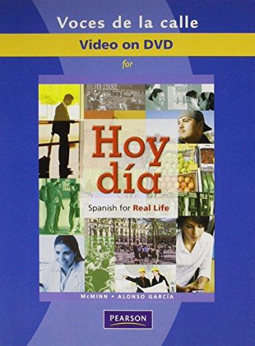 9780205740444: DVD (Voces de la calle) for Hoy dia: Spanish for Real Life
