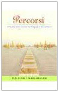 9780205740819: Percorsi: l'Italia attraverso la lingua e la cultura, Books a la Carte Plus MyItalianLab