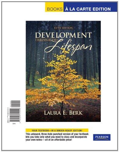 9780205741519: Development Through the Lifespan: Books a La Carte Edition