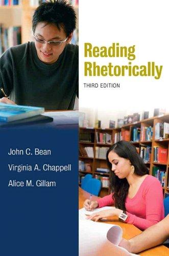 9780205741939: Reading Rhetorically, 3rd Edition