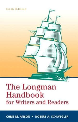 9780205741991: Longman Handbook for Writers and Readers, The (paperbk) (6th Edition)
