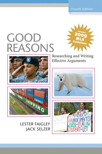 9780205743353: Good Reasons: Researching and Writing Effective Arguments, MLA Update (4th Edition)